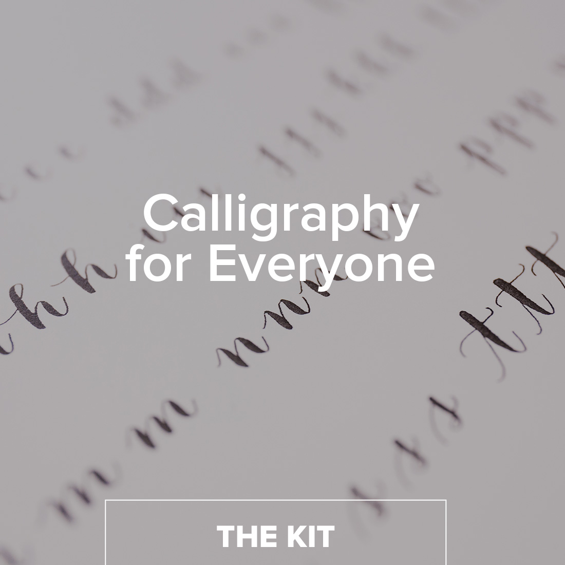 Calligraphy 101 kit brit co shop creative products Calligraphy 101